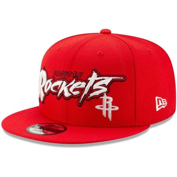 NBA ヒューストン・ロケッツ キャップ/帽子 レトロ グラフィティ 9FIFTY ニューエラ/New Era レッド