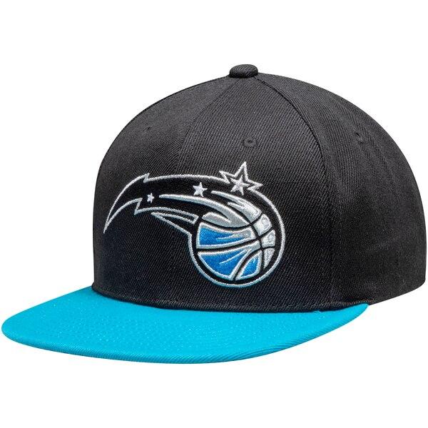 NBA オーランド・マジック キャップ/帽子 ロゴ セントラル ミッチェル&ネス/Mitchell & Ness ブラック ブルー