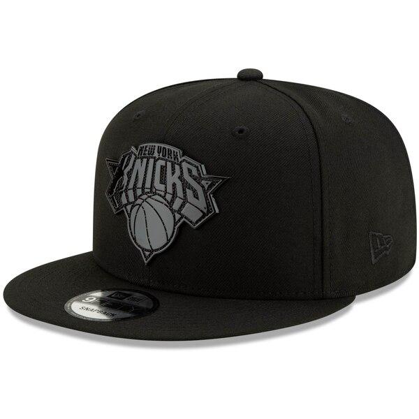 NBA ニューヨーク・ニックス キャップ/帽子 テクスチャ― 9FIFTY ニューエラ/New Era ブラック