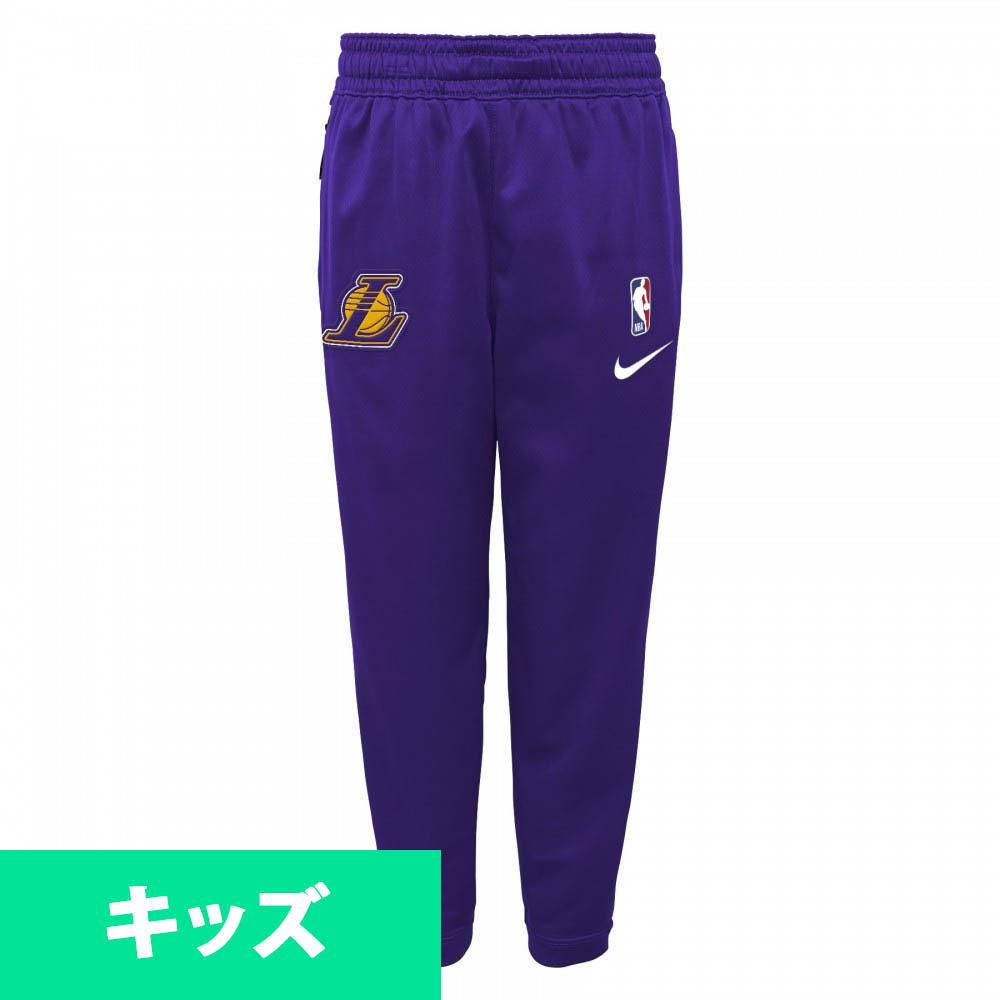 NBA ロサンゼルス・レイカーズ ロングパンツ/ズボン ユース スポットライト サーマ パンツ ナイキ Nike パープル