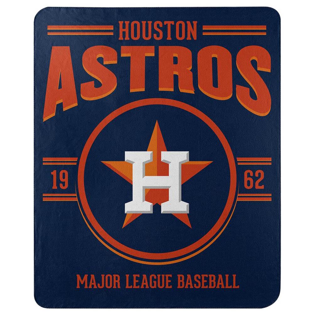 MLB ヒューストン・アストロズ フリース ブランケット 50×60 Northwest