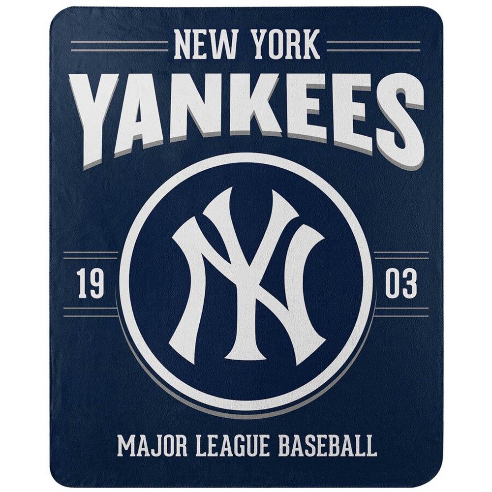 MLB ニューヨーク・ヤンキース フリース ブランケット 50×60 Northwest