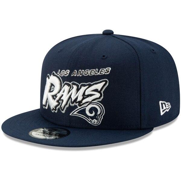 NFL ラムズ キャップ/帽子 グラフィティ 9FIFTY ニューエラ/New Era ネイビー
