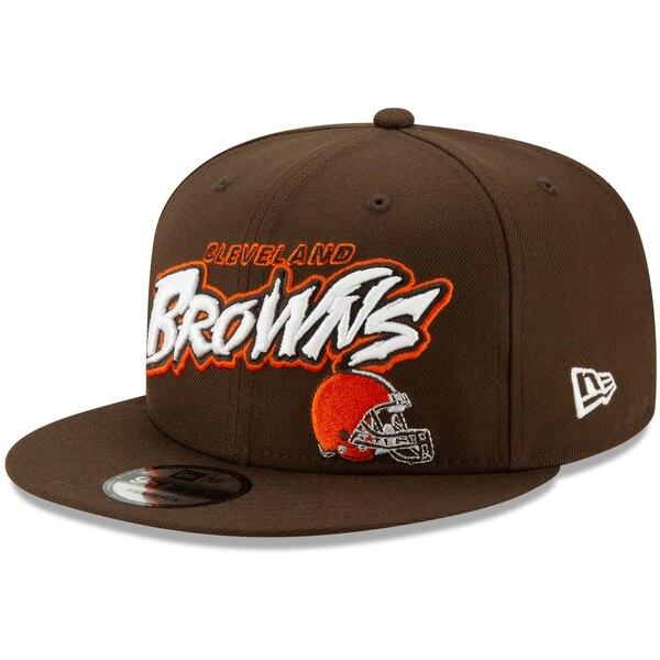 NFL ブラウンズ キャップ/帽子 グラフィティ 9FIFTY ニューエラ/New Era ブラウン