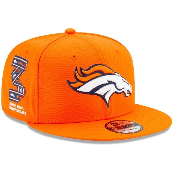 NFL ブロンコス キャップ/帽子 トリビュート 9FIFTY ニューエラ/New Era オレンジ