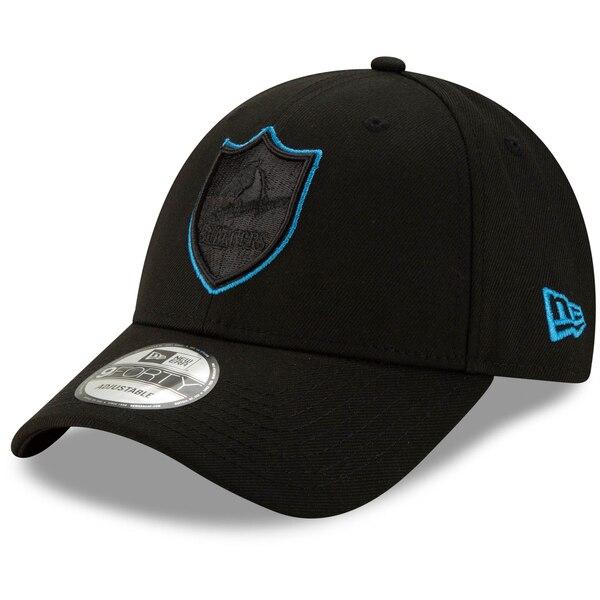 NFL チャージャース キャップ/帽子 スローバック ロゴ 9FORTY ニューエラ/New Era ブラック