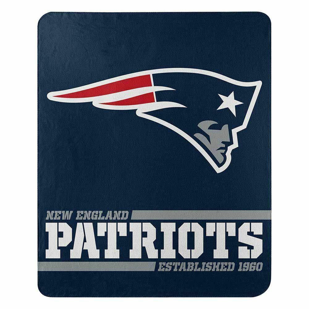 NFL ペイトリオッツ フリース ブランケット 50×60 Northwest