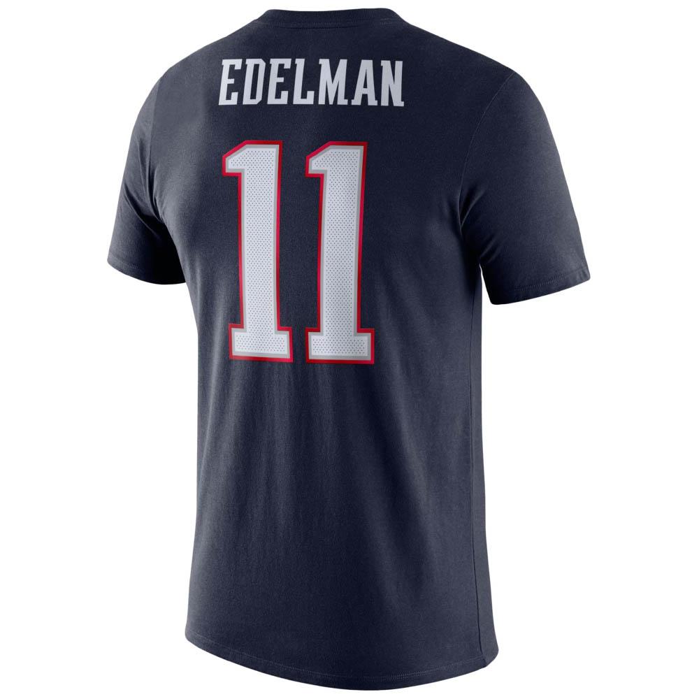 NFL ジュリアン・エデルマン ペイトリオッツ Tシャツ プレーヤー ロゴ ナイキ/Nike ネイビー BQ1368-422