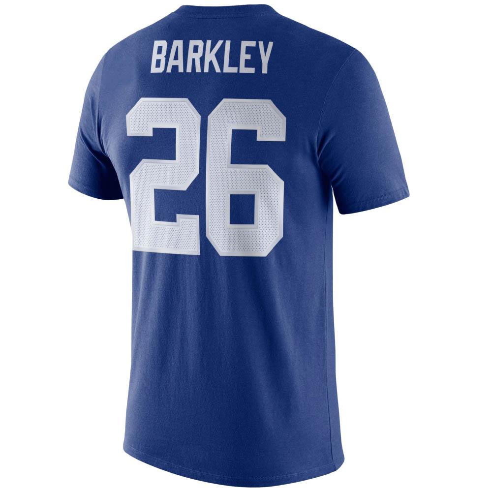 NFL サクオン・バークリー ジャイアンツ Tシャツ プレーヤー ロゴ ナイキ/Nike ロイヤル BQ1370-495