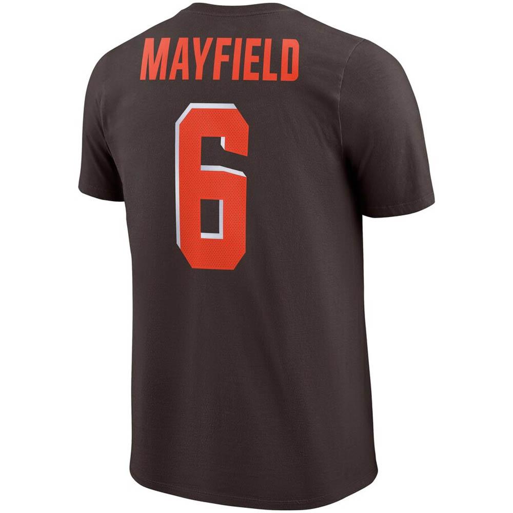 NFL ベイカー・メイフィールド ブラウンズ Tシャツ プレーヤー ロゴ ナイキ/Nike ブラウン BQ1356-272