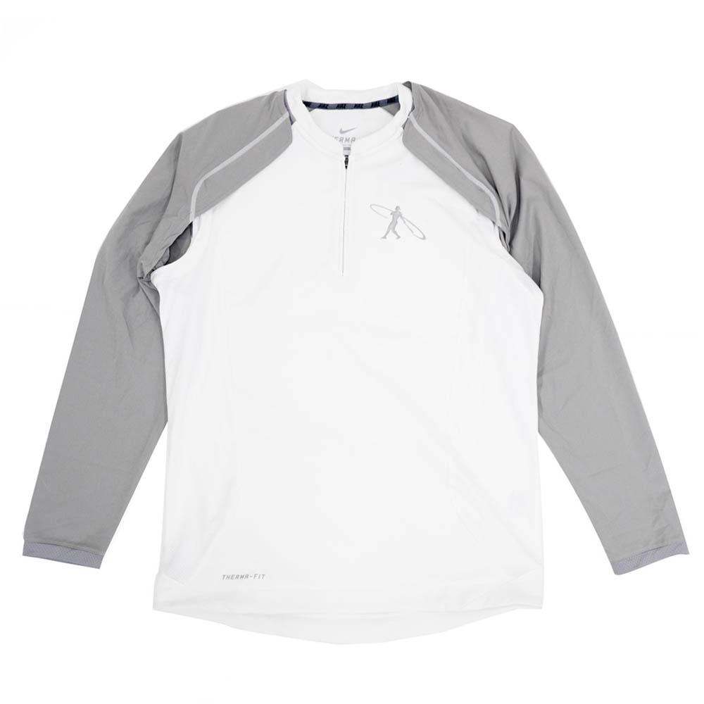GRIFFEY ケン・グリフィーJR. ジャケット/アウター スイングマン トレーニング ハーフジップ ナイキ/Nike ホワイト 506597-100