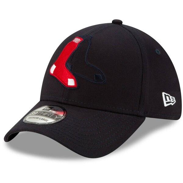 レッドソックス キャップ ニューエラ New Era MLB ロゴ エレメンツ 39THIRTY ネイビー
