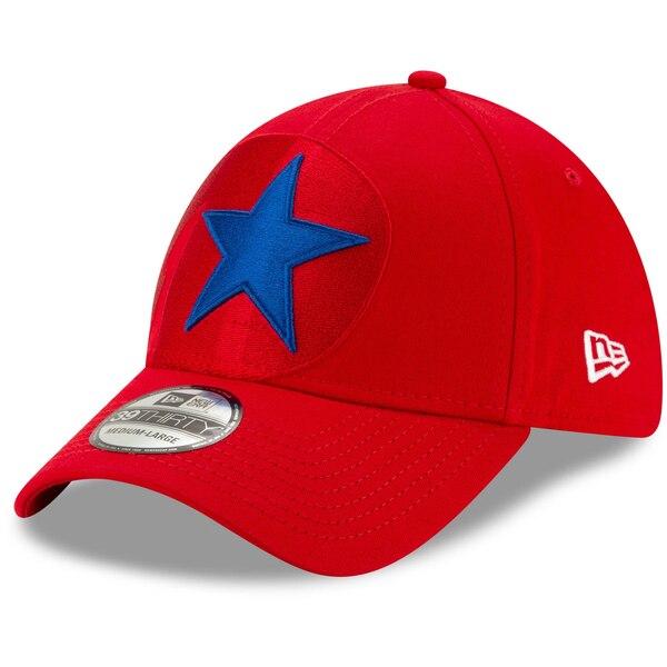 フィリーズ キャップ ニューエラ New Era MLB ロゴ エレメンツ 39THIRTY レッド