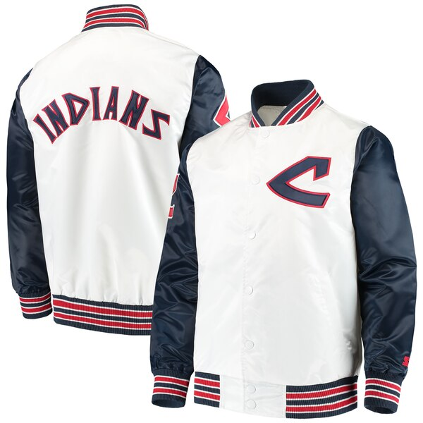 MLB クリーブランド・インディアンス ジャケット/アウター レジェンド STARTER ホワイト