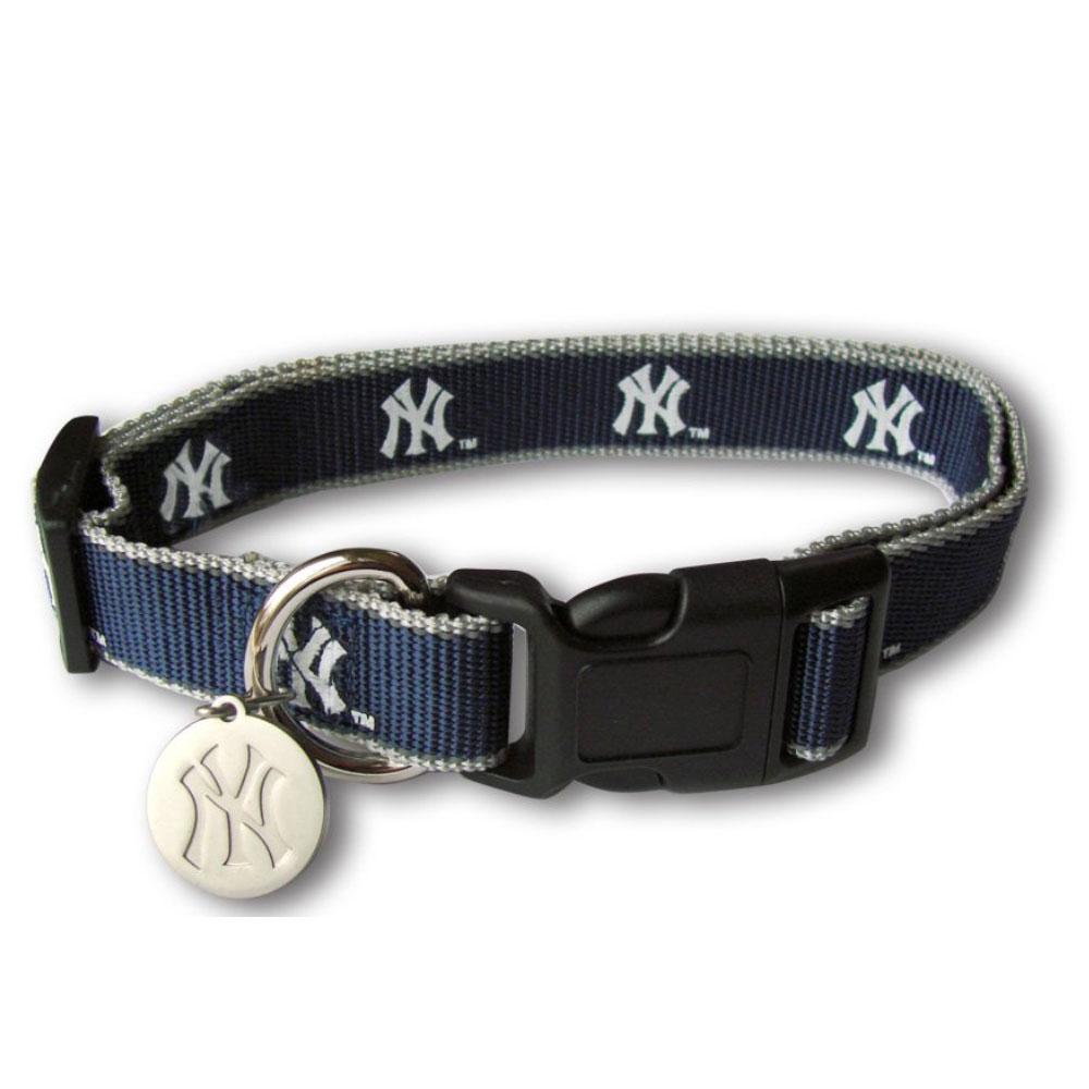 MLB ニューヨーク・ヤンキース インテリア ドックカラー 犬用 首輪 リフレクティブ Sporty K9