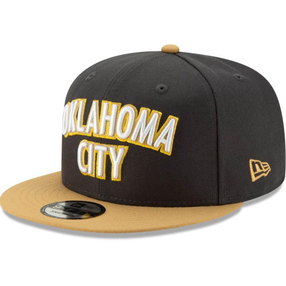 NBA オクラホマシティ・サンダー キャップ/帽子 2019/20 シティ エディション スナップバック ニューエラ/New Era ブラック