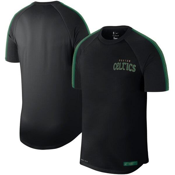 セルティックス Tシャツ ナイキ Nike NBA 2019/20 シティエディション コートサイド パフォーマンス ブラック