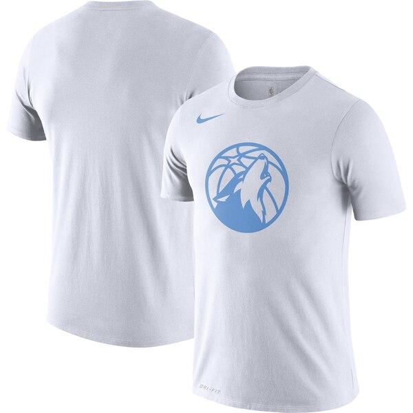 ティンバーウルブズ Tシャツ ナイキ Nike NBA 2019/20 シティエディション ロゴ パフォーマンス ホワイト