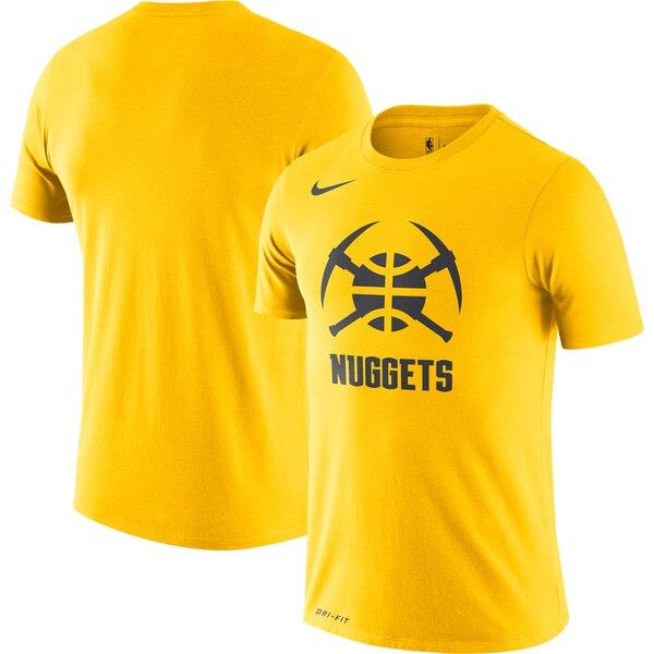 ナゲッツ Tシャツ ナイキ Nike NBA 2019/20 シティエディション ロゴ パフォーマンス イエロー