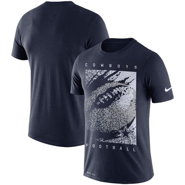 カウボーイズ Tシャツ ナイキ Nike NFL ファン ギア メッゾ アイコン パフォーマンス ネイビー