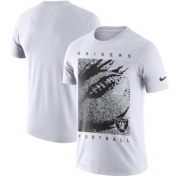 レイダース Tシャツ ナイキ Nike NFL ファン ギア メッゾ アイコン パフォーマンス ホワイト