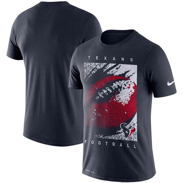 テキサンズ Tシャツ ナイキ Nike NFL ファン ギア メッゾ アイコン パフォーマンス ネイビー