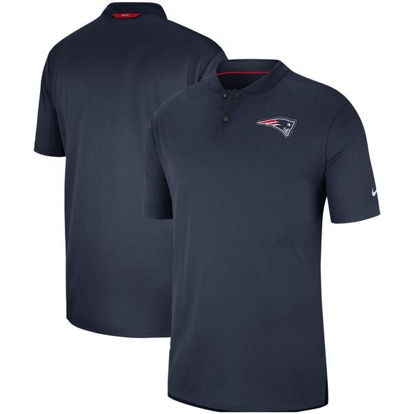 ペイトリオッツ ポロシャツ ナイキ Nike NFL サイドライン エリート コーチ パフォーマンス ネイビー