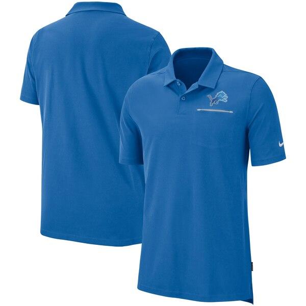 ライオンズ ポロシャツ ナイキ Nike NFL サイドライン エリート パフォーマンス ブルー