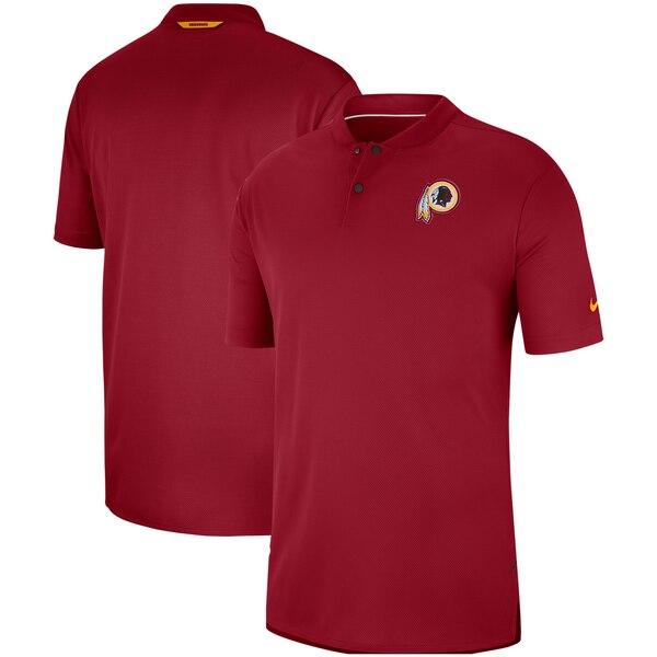 レッドスキンズ ポロシャツ ナイキ Nike NFL サイドライン エリート コーチ パフォーマンス バーガンディ