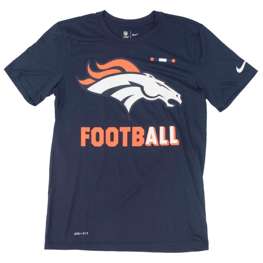 ブロンコス Tシャツ NFL ナイキ Nike オール フットボール ネイビー 841087-419