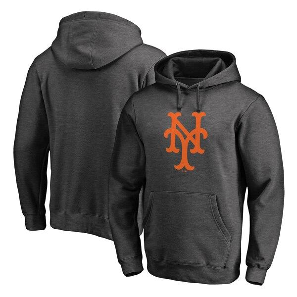 MLB ニューヨーク・メッツ パーカー/フーディー クーパーズタウン コレクション ハンティントン プルオーバー ヘザーグレー
