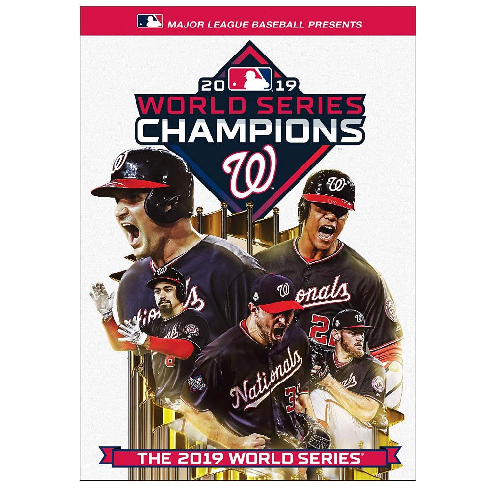 MLB ワシントン・ナショナルズ 2019 ワールドシリーズ チャンピオンズ DVD & ブルーレイ セット Team Marketing
