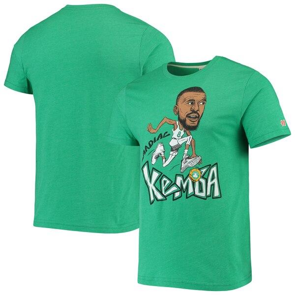 NBA ケンバ・ウォーカー ボストン・セルティックス Tシャツ カリカチュア トライブレンド Homage ケリーグリーン