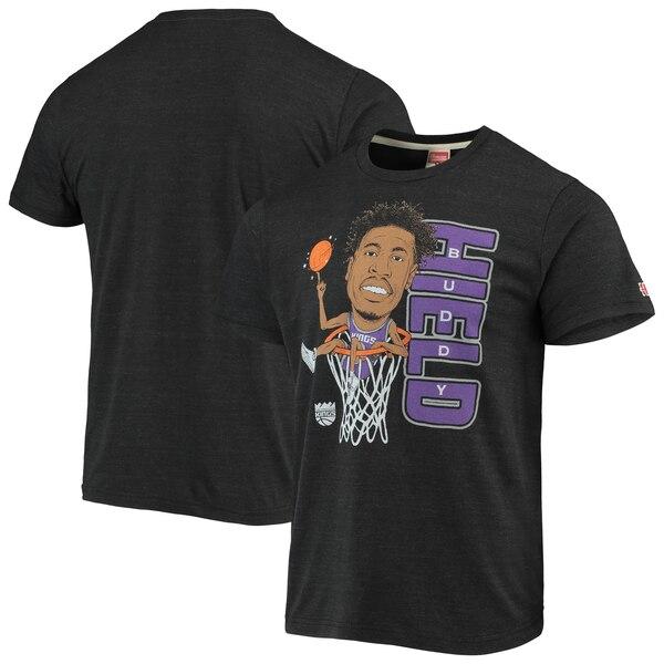 NBA バディ・ヒールド サクラメント・キングス Tシャツ カリカチュア トライブレンド Homage チャコール