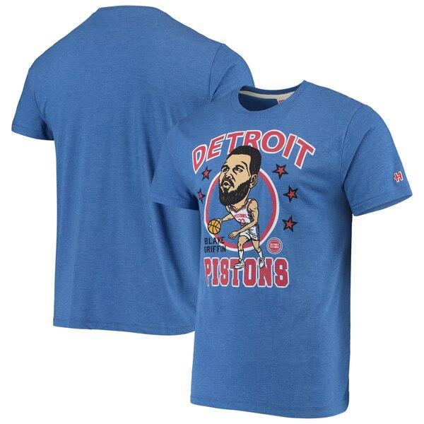 NBA ブレイク・グリフィン デトロイト・ピストンズ Tシャツ カリカチュア トライブレンド Homage ロイヤル