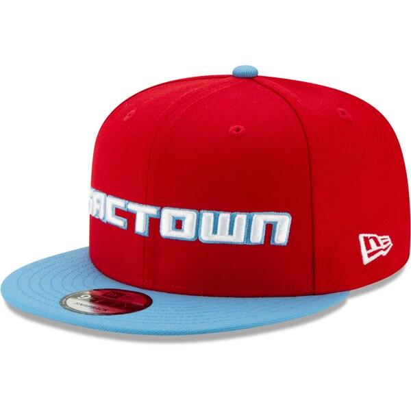 NBA サクラメント・キングス キャップ/帽子 2019/20 シティエディション オンコート 9FIFTY ニューエラ/New Era レッド ライトブルー