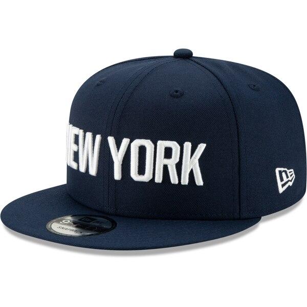 NBA ニューヨーク・ニックス キャップ/帽子 2019/20 シティエディション オンコート 9FIFTY ニューエラ/New Era ネイビー