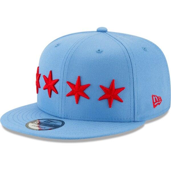 NBA シカゴ・ブルズ キャップ/帽子 2019/20 シティエディション オンコート 9FIFTY ニューエラ/New Era ライトブルー