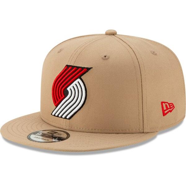 NBA トレイルブレイザーズ キャップ/帽子 2019/20 シティエディション オンコート 9FIFTY ニューエラ/New Era カーキ