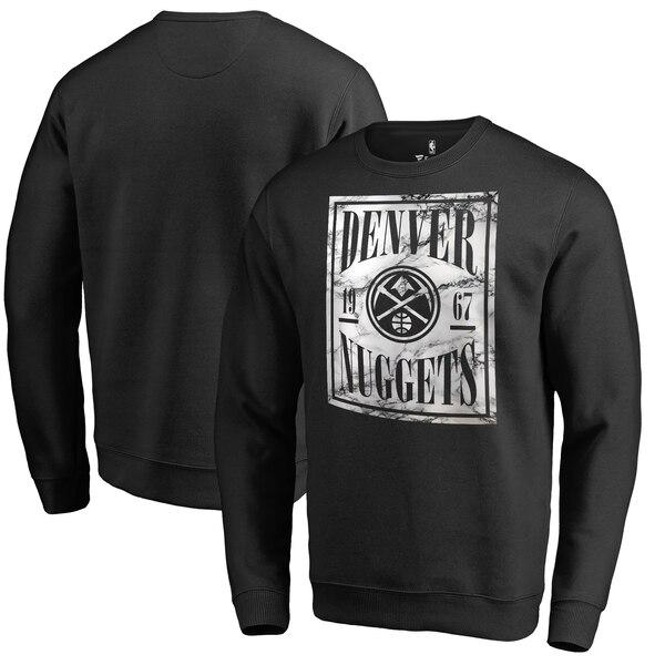 NBA デンバー・ナゲッツ スウェットシャツ/トレーナー コート ビジョン クルー ブラック