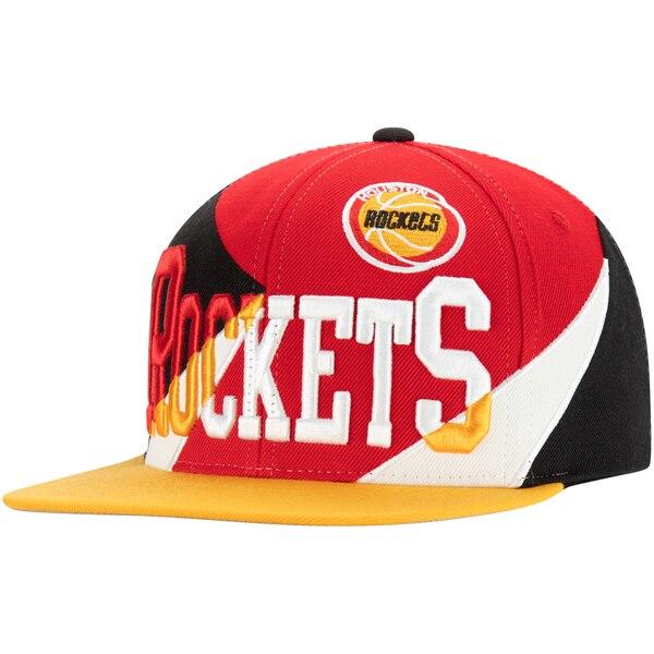 NBA ヒューストン・ロケッツ キャップ/帽子 マルチプレイ スナップバック ミッチェル&ネス/Mitchell & Ness レッド