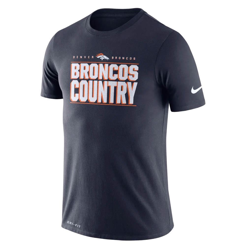 NFL ブロンコス Tシャツ ドライフィット ローカル ナイキ/Nike カレッジネイビー BQ0351-419