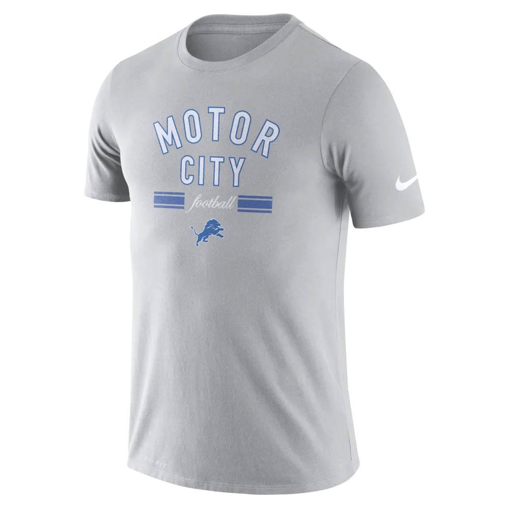NFL ライオンズ Tシャツ ドライフィット ローカル ナイキ/Nike ダークスティールグレー BQ0352-002