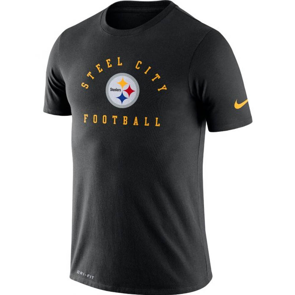 NFL スティーラーズ Tシャツ ドライフィット ローカル ナイキ/Nike ブラック BQ0366-010