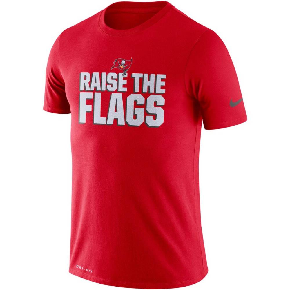 NFL バッカニアーズ Tシャツ ドライフィット ローカル ナイキ/Nike レッド BQ0370-657
