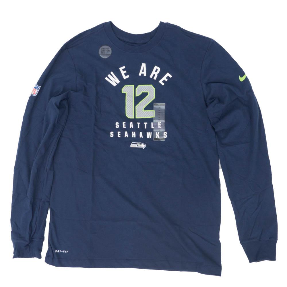 NFL シーホークス Tシャツ DFCT ローカル ロングスリーブ ナイキ/Nike ネイビー CI4948-419
