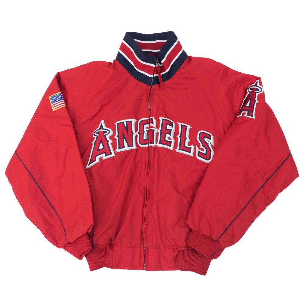 MLB エンゼルス ジャケット/アウター 2001 Premire (Flag) マジェスティック/Majestic レッド