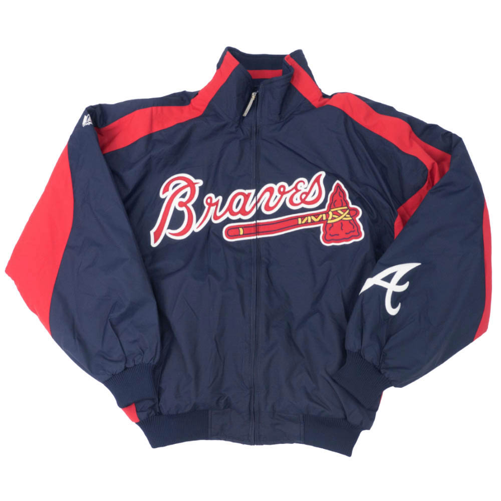 MLB ブリュワーズ ジャケット/アウター 2003 AC Primiere マジェスティック/Majestic ネイビー