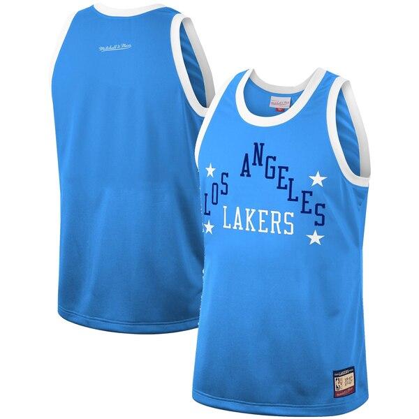 NBA ロサンゼルス・レイカーズ ユニフォーム/ジャージ チーム ヘリテージ ファッション ミッチェル&ネス/Mitchell & Ness ブルー