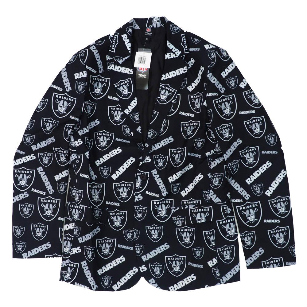 NFL レイダース ジャケット/アウター アグリー ビジネス Forever Collectables ブラック